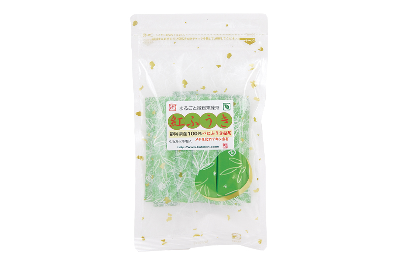 静岡牧之原 深蒸し紅ふうき(べにふうき) 緑茶 1袋(20包入)・20包入×5袋セット